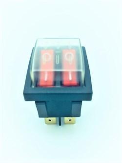 Выключатель двухклавишный (04) - фото 19113