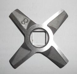 Нож для мясорубки 8  двусторонний Zelmer ZL017 - фото 19528