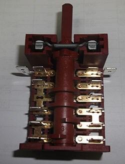 ЕР210 Переключатель духовки 5 позиций HANSA 250V 16A - фото 19548