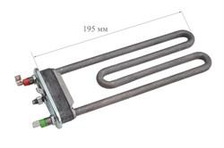 ТЭН 1800 Вт/220, средний, L-195 мм, прямой, с отверстием/без отв. (пластиковый бак) (в/з 255096) - фото 20227