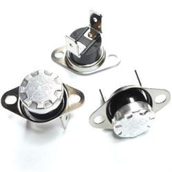 Термостат защитный (250V/16A 65 KSD301) для Ballu BKX-5 (7030200011) - фото 20484