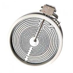 Электрическая конфорка стеклокерамическая D230mm 2300Вт. 2 контакта с термозащитой - фото 20491