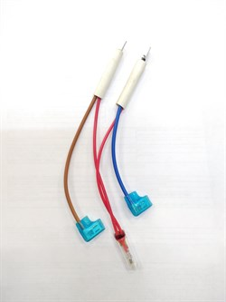 Лампа индикаторная с пучком проводов - фото 20559
