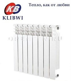 Радиатор биметал. KLIBWI 500/80     6 секций - фото 4690