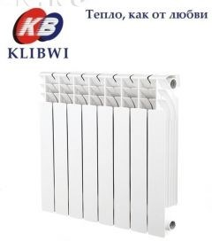 Радиатор алюм. KLIBWI 500/100     10 секций - фото 4696