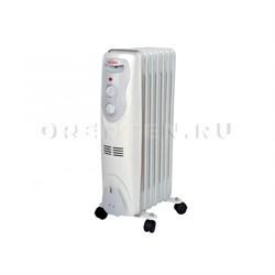 Масляный радиатор ОМПТ-7Н (1,5 кВт) Ресанта - фото 5141
