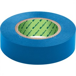 Изолента ПВХ, 15 мм х 10 м, синяя / СИБТЕХ - фото 5259