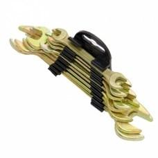FALCO Набор ключей рожковых оцинк. в пластик. подвесе 8 пр., 6-17 мм - фото 5314