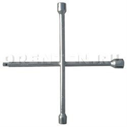 "Ключ-крест баллонный, 17 x 19 x 21 мм, под квадрат 1/2"", толщина 14 мм - фото 5372"