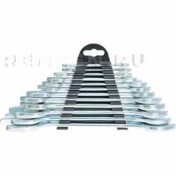 Набор ключей рожковых, 6 x 32 мм, 12 шт., хромированные// SPARTA - фото 5374
