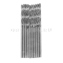 Сверло по металлу HSS 1,0 мм (Hobbi) (шт.), полированное, цилиндрический хвостовик // MATRIX - фото 5543