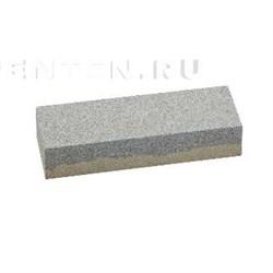 Брусок абразивный двусторонний 150 мм.