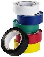 Набор цветных изолент, 19 мм х 3 м, 6шт. (Hobbi) (уп.)