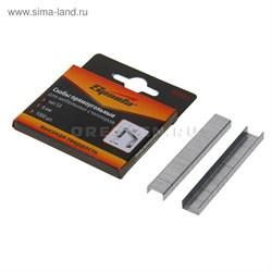 Скобы, 6 мм, для мебельного степлера, тип 53, 1000 шт. // Sparta