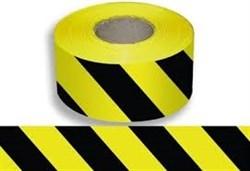 Лента сигнальная (черно-желтая), 50*100м (FIT IT)