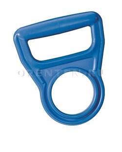 Ручка для бутылей пластиковая голубая - фото 8017
