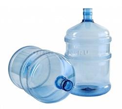 Пэт-бутыль 18,9 голубая без ручки (700 гр.) - фото 8137