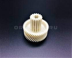 Шестерня с металлической вставкой для мясорубок Vitek/Panasonic/Dex, Д-52/22мм, зубья 47/16шт. (косой/косой) - фото 8305