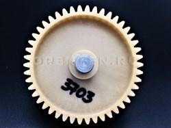 Шестерня с металлическим валом 82 мм (косые зубы) - фото 8482