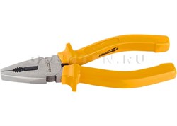 Плоскогубцы Classic, 180 мм, шлифованные, пластмассовые рукоятки// Sparta - фото 8717