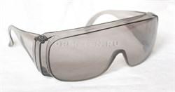 Очки защитные открытого типа, затемненные, ударопрочный поликарбонат// СИБРТЕХ/Россия - фото 8795