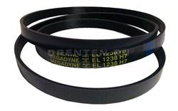 Ремень  L-1238 H7 черный, Megadyne. ARDO - фото 9002