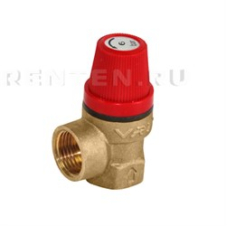 Клапан предохранительный 1/2 вн/вн 6 бар VRT - фото 9052