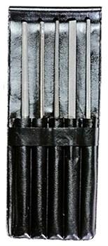 Набор надфилей 140 мм, диаметр 3 мм (металлист)// Россия - фото 9070