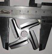 MRZ049Нож к мясорубке 6 граней внутренний D=7,5 мм