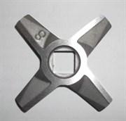ZL017 Нож №8 двусторонний к мясорубке двухсторонний