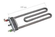 ТЭН 1800 Вт/220, средний, L-195 мм, прямой, с отверстием/без отв. (пластиковый бак) (в/з 255096)