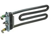 ТЭН 1700W, короткий L-175mm/изогнутый/с отверстием/пластик бак.(Merloni-087188)