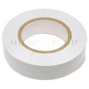 Изолента ПВХ, 15 мм х 10 м, белая / СИБТЕХ