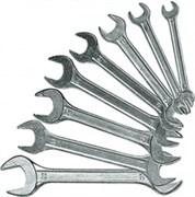 Набор ключей рожковых, 6 x 22 мм, 8 шт., хромированные// SPARTA