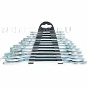Набор ключей рожковых, 6 x 32 мм, 12 шт., хромированные// SPARTA