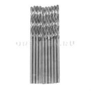 Сверло по металлу HSS 1,0 мм (Hobbi) (шт.), полированное, цилиндрический хвостовик // MATRIX