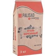 Уголь берёзовый, 3 кг//PALISAD Camping/ Россия