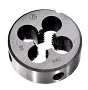 Плашка круглая метрическая, инструментальная сталь М 8 Х 1,0 мм